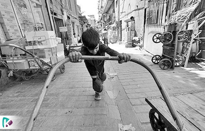 در کشور نیم میلیون کودک کار وجود دارد