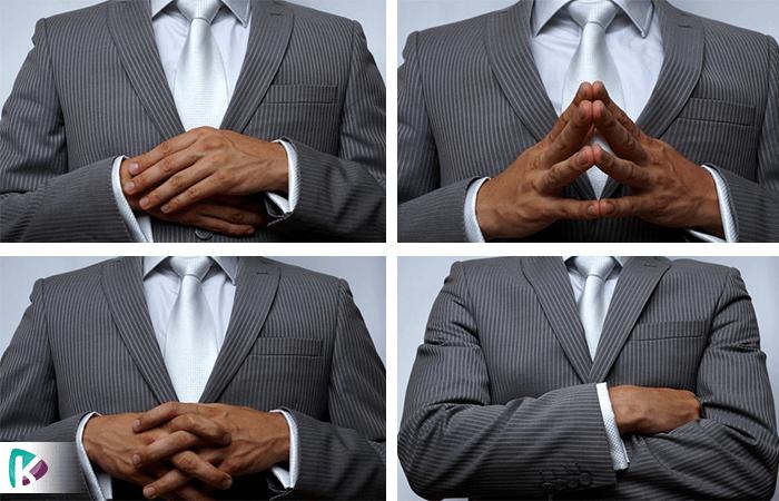 با دست هایتان در مصاحبه های شغلی معجزه کنید!