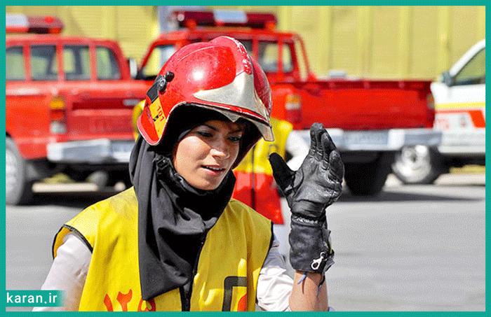 همه چیز درباره شغل آتش نشان